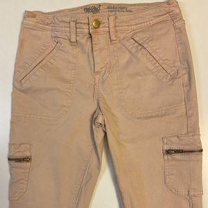 Pale Pink Cargo Pants